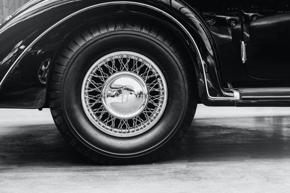 Some antique classic car